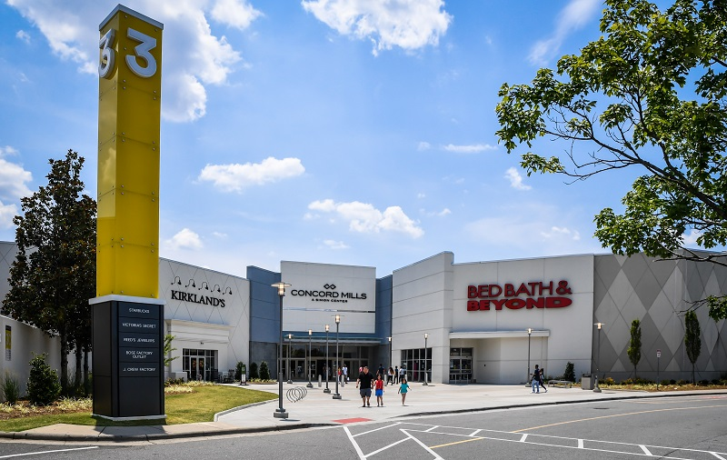 The #1 shopping entertainment destination of the Carolinas and North Carolina's #1 visitor attraction. Concord Mills features over stores including manufacturer and retail outlets, off-price retailers, and unique specialty stores.