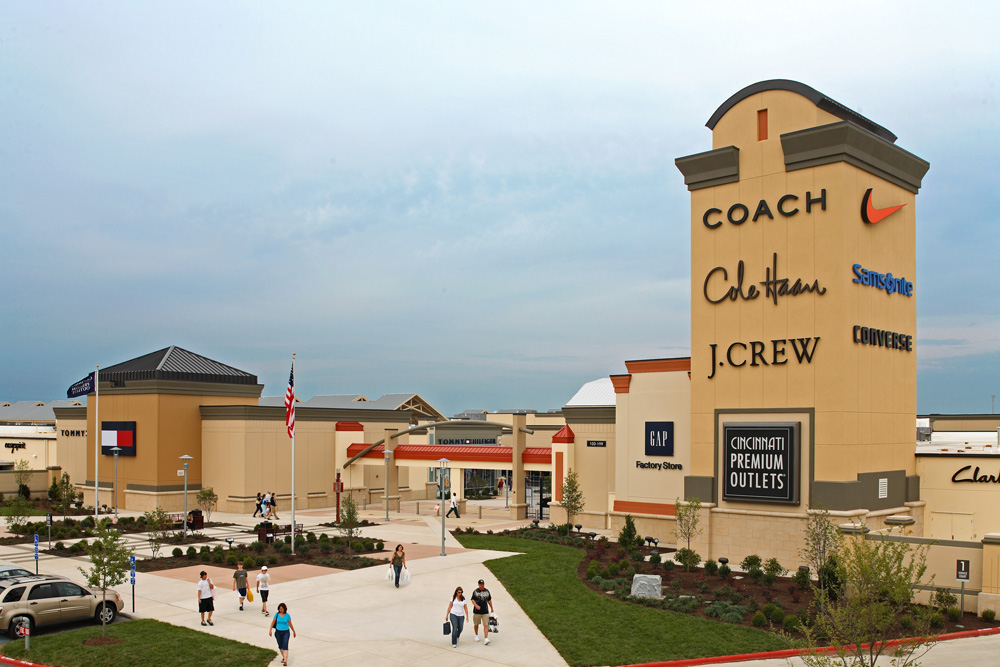 About Cincinnati Premium Outlets®   A Shopping Center in Monroe