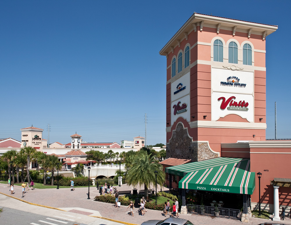 About Orlando International Premium Outlets A Shopping Center in