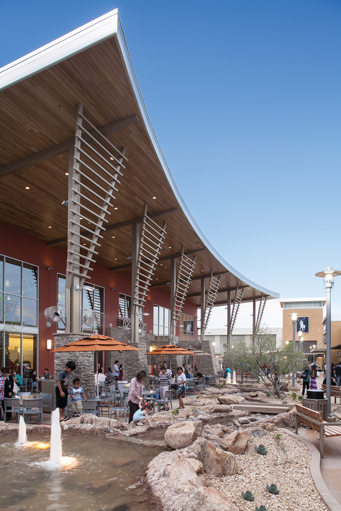 The outlet mall, located on Twin Peaks Road near I, will be just a portion of the overall acre Marana Center.