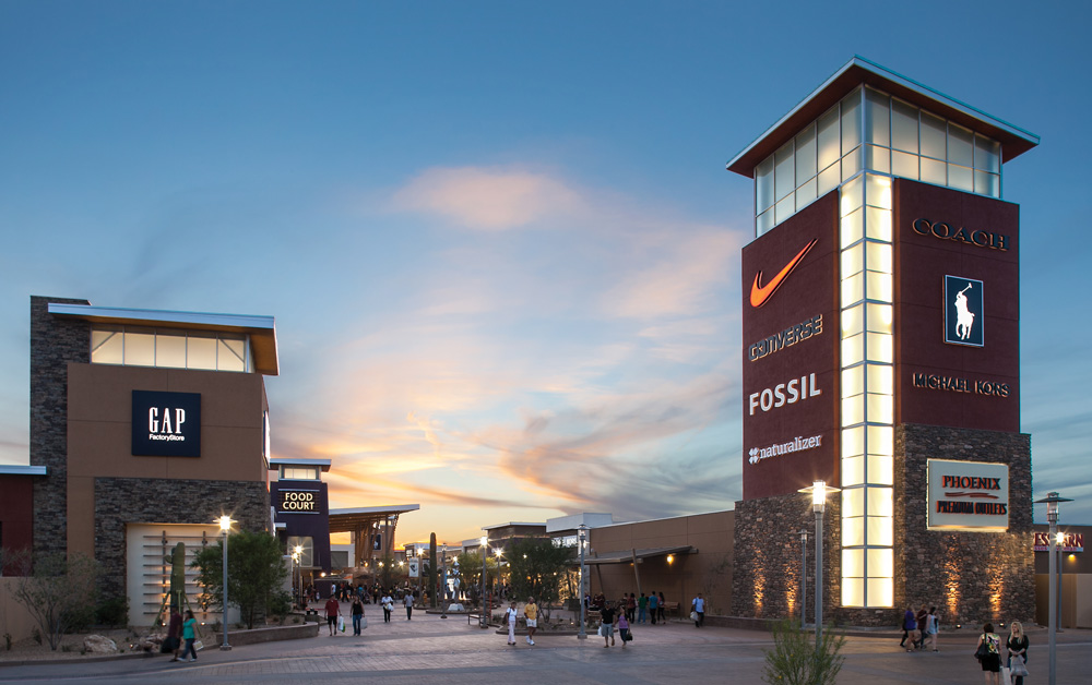 Directions. Get directions to Phoenix Premium Outlets located in Chandler, Arizona. Arizona AZ? Find driving directions to Phoenix Premium Outlets below. Phoenix Premium Outlets location: Premium Outlets Way, Chandler, Arizona - AZ Insert your starting address. Best Outlets.