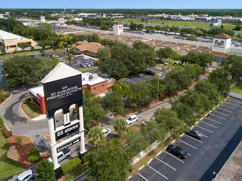 st augustine premium outlets outlet mall in florida location
