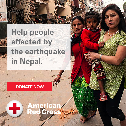Help people affected by the earthquake in Nepal. Donate now.
