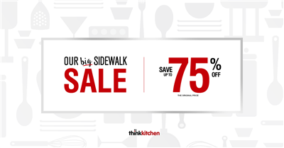 Our Big Sidewalk Sale