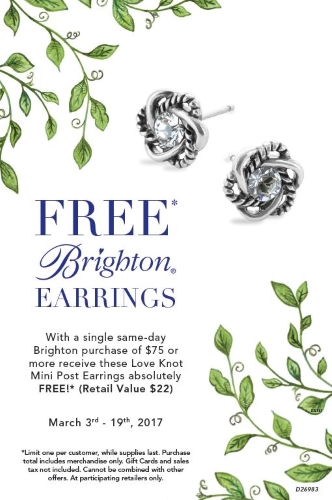 FREE Brighton Earrings