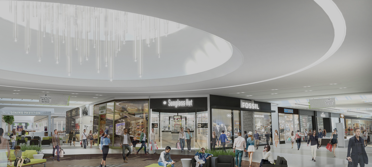 Makeover Underway at the Florida Mall