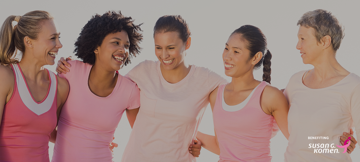 Mission Pink: Together we're stronger in the fight to save lives and end breast cancer forever.