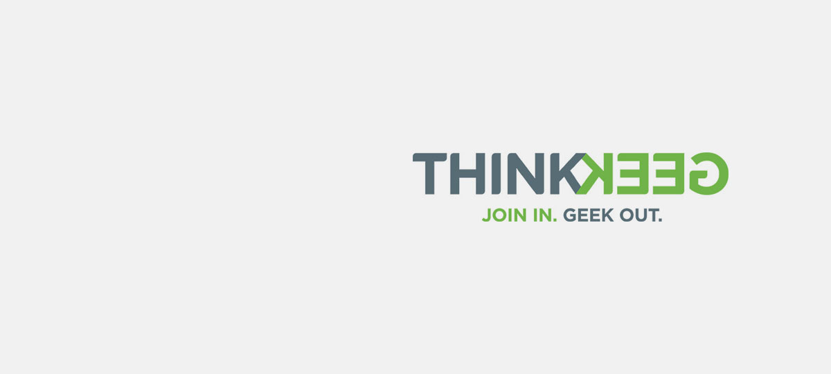 Think Geek Now Open