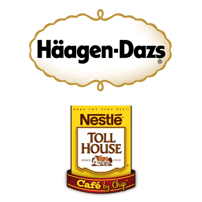 Haagen Daz/ Nestle Toll House