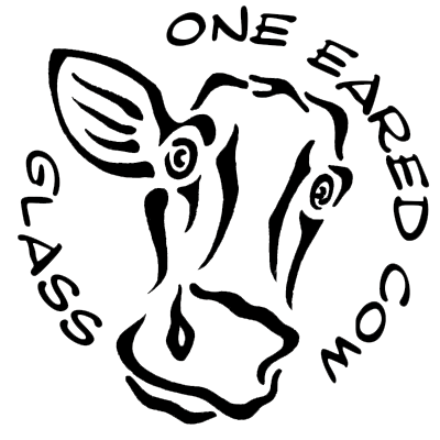 One Eared Cow Glass