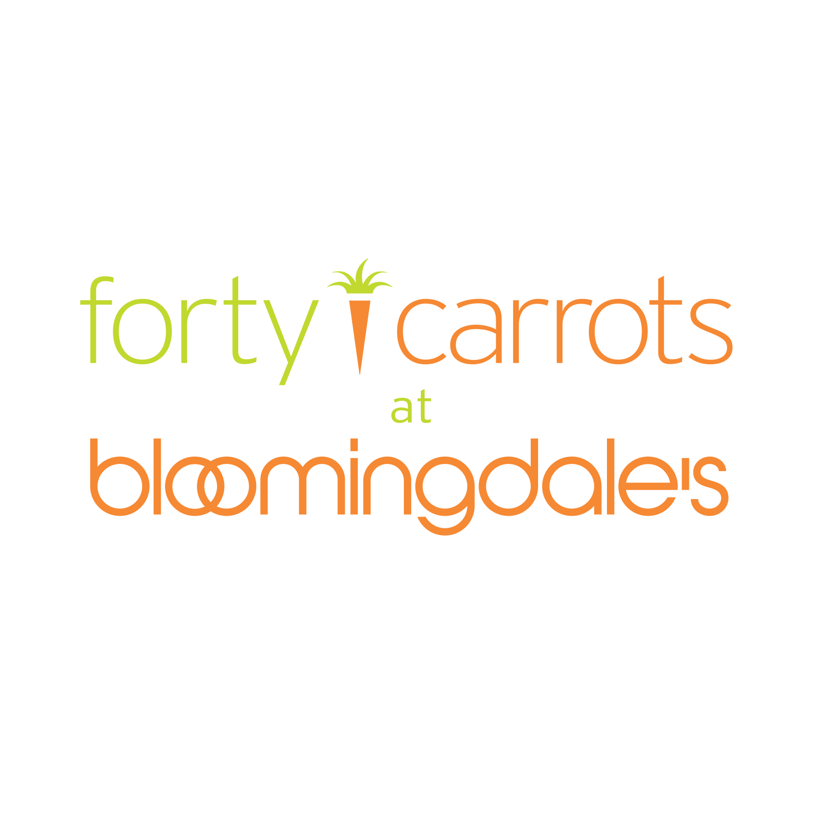 40 Carrots (2nd Floor of Bloomingdale's)